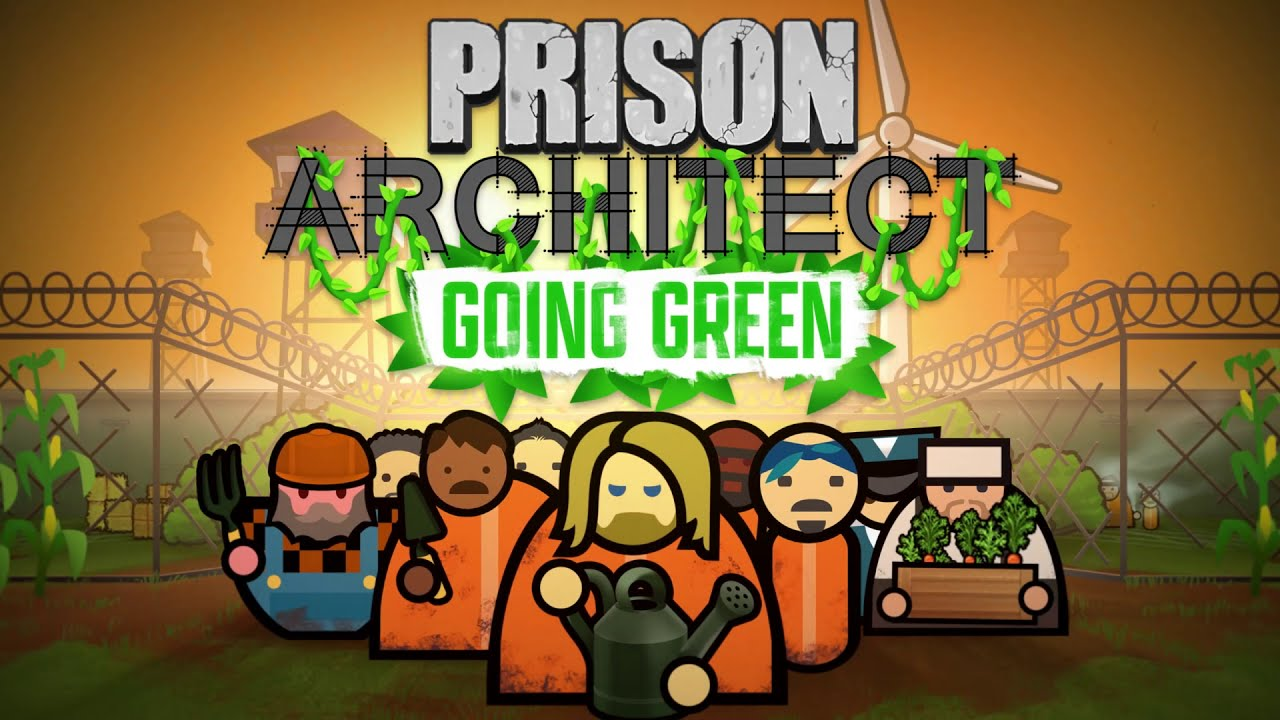 Prison Architect Going Green logo