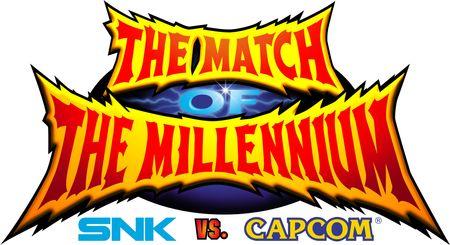 SNK VS. CAPCOM: THE MATCH OF THE MILLENNIUM Logo