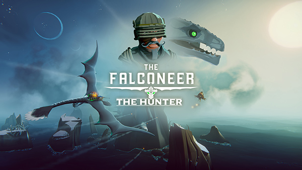 The Falconeer The Hunter DLC logo