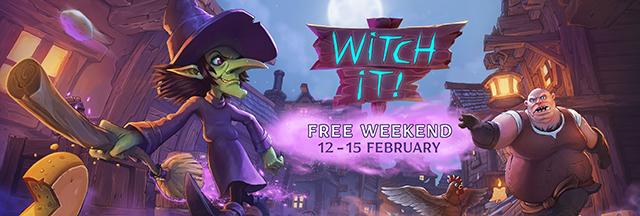 Witch It Free Weekend logo